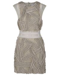 3.1 Phillip Lim | Natural Rope Beaded Dress | Lyst