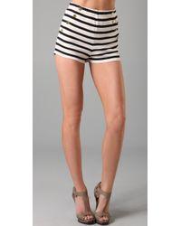 By Malene Birger | Natural Nacci Stripe Sailor Shorts | Lyst