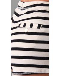 By Malene Birger - Natural Nacci Stripe Sailor Shorts - Lyst