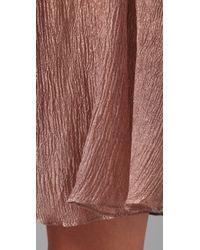 Opening Ceremony | Pink Reverse Pleated Skirt | Lyst