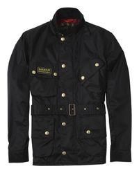 Barbour - Black Nylon International Jacket for Men - Lyst