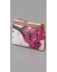 L.A.M.B. - Multicolor Signature Cherry Blossom Coin Purse - Lyst