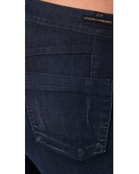 Citizens of Humanity | Blue Taylor Cropped Trouser Jeans | Lyst