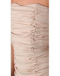 IRO | White Louise Strapless Dress | Lyst