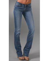 Notify | Blue Anemone Straight Leg Jeans | Lyst