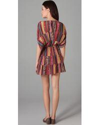 Tucker - Multicolor Panel Dress Mini - Lyst