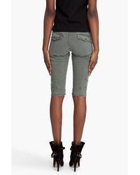 J Brand - Green Houlihan Shorts - Lyst