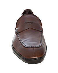 Tod's | Brown Leather Jack Loafers for Men | Lyst