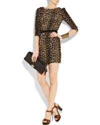 Camilla & Marc | Multicolor Blind Call Leopard-print Silk Dress | Lyst