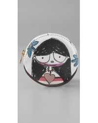 Marc By Marc Jacobs | Multicolor Miss Marc Head Case Coin Purse | Lyst