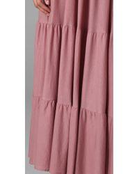 Rachel Pally   Pink Beach Long Dress   Lyst