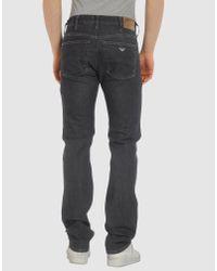 Armani Jeans - Black Jeans for Men - Lyst