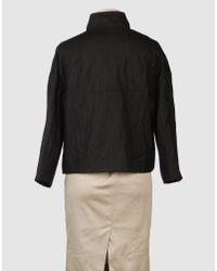Manoush - Black Fur Leather Jacket - Lyst