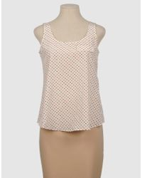 Boy by Band of Outsiders | White Polka Dot Tank | Lyst