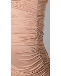 A.L.C. | Pink Twisty Skirt | Lyst