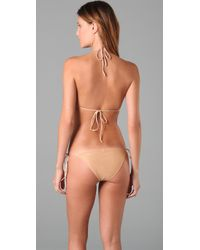 Cali Dreaming - Natural The String Bikini - Lyst
