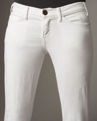 Current/Elliott - White The Low Bell Sugar Jeans - Lyst