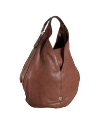 Givenchy | Brown Lambskin Leather Tinhan Large Hobo | Lyst