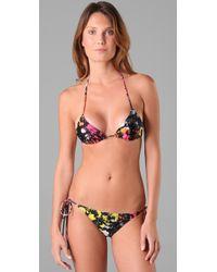 Insight - Black Crackle Cossie Bikini - Lyst