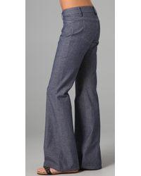 Joe's Jeans | Blue High Rise Wide Leg Trouser Jeans | Lyst