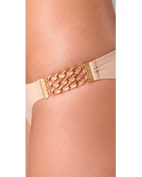 L*Space | Natural Catwalk Bikini Bottoms | Lyst