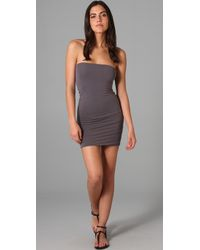 Splendid | Gray Layers Tube Strapless Slip | Lyst