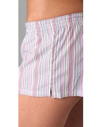 Calvin Klein - Pink Ck One Boxers with Eye Mask - Lyst