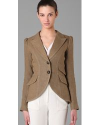 Smythe | Brown Equesterian Jacket | Lyst