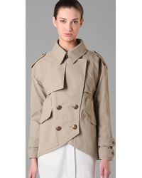 Smythe | Natural Mac Jacket | Lyst