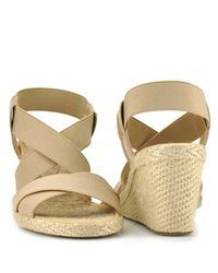Andre Assous - Natural Dalmira - Taupe Wedge Espadrille - Lyst