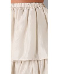 Dallin Chase | Natural Princeton Tiered Skirt | Lyst