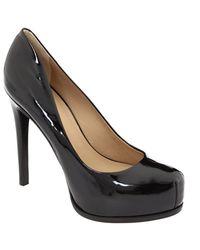 Pour La Victoire - Irina - Black Patent Leather Pump - Lyst