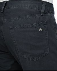 Rag & Bone - Gray Rb15x-rbs - Charcoal for Men - Lyst