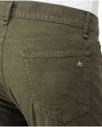 Rag & Bone | Green Rb15x - C - Washed Fatigue for Men | Lyst