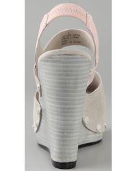 Tuleste - Pink Dana Clog Wedge Sandals - Lyst