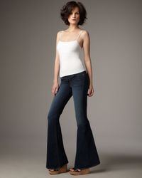 J Brand | Gray Elephant Bell-bottom Jeans | Lyst