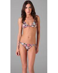 Naelie - Red Dalia Liberty Floral Bikini - Lyst