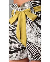 Sass & Bide - Yellow A Lighted World Shorts - Lyst