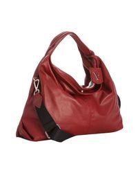 Furla - Red Leather Elisabeth Crossbody Shopper Tote - Lyst
