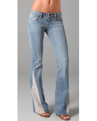 Genetic Denim | Blue The Gusset Fever Bell Bottom Jeans | Lyst
