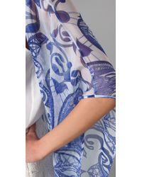 Jen Kao - Blue Desert Grazer Kimono Shrug - Lyst