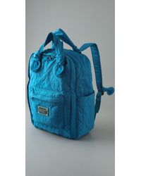 Marc By Marc Jacobs - Blue Pretty Nylon Backpack - Lyst