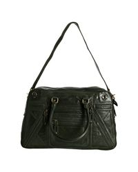 Rebecca Minkoff - Hunter Green Leather Rapture Satchel - Lyst