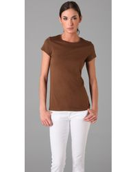 Vince | Brown Little Boy Tee | Lyst