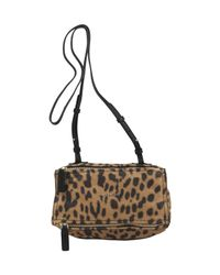 Givenchy | Multicolor Mini Leopard Print Pandora Bag | Lyst