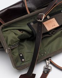 Billykirk - Green Large Carry All Wax Olive for Men - Lyst