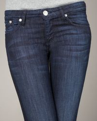 Rock & Republic | Blue Boot-cut Jeans | Lyst