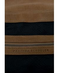 Proenza Schouler - Brown Leather Carry All Bag - Lyst
