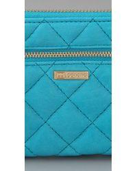 Gorjana - Blue Thompson Large Wallet - Lyst