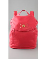 Marc By Marc Jacobs - Red Totally Turnover Backpack / Messenger Bag - Lyst